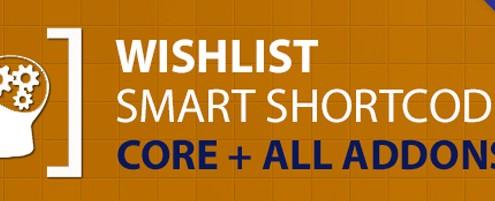 Wishlist Smart Shortcodes New Commercial Plugin for Wishlist Member
