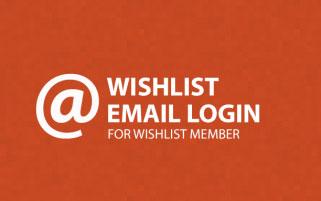 Wishlist Email Login