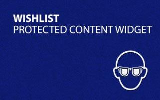 Wishlist Protected Content Widget